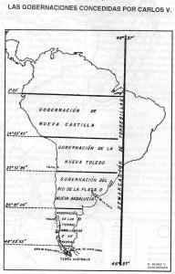 Gobernaciones de Carlos V